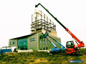 build a wind tunnel for indoor skydiving