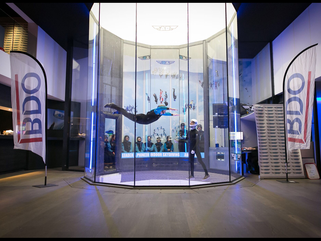 wind tunnel skydiving business plan